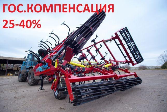 Культиватор КСО-8М укр. грядиль+навеска под зубовые бороны