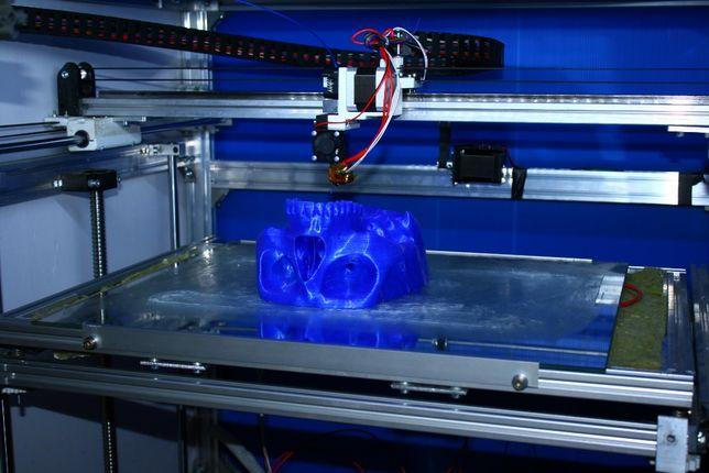 3Д печать (FDM, SLA) крупногабаритная.