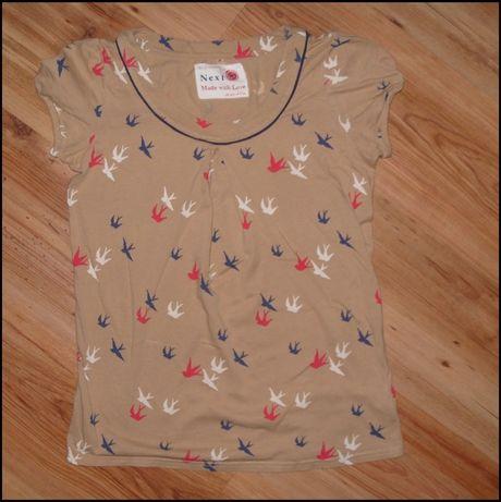 Bluzeczka NEXT w jaskółki r.152