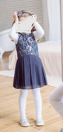 Нарядное платье next 3-4 года