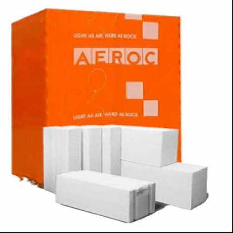Газоблок, пеноблок, газобетон АЭРОК/AEROC/СТОУНЛАЙТ/STONELIGHT