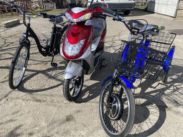 Электровелосипед / электроскутер новый в наличии !!!