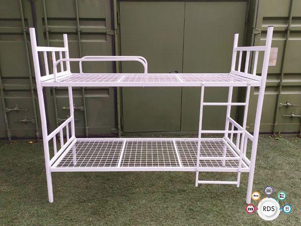 Łóżka piętrowe DUŻE ILOŚCI Łóżko metalowe hostelowe wojskowe B-10