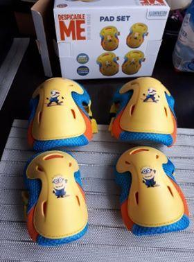Nowe Ochraniacze na kolana i łokcie dla dziecka z MINIONKAMI