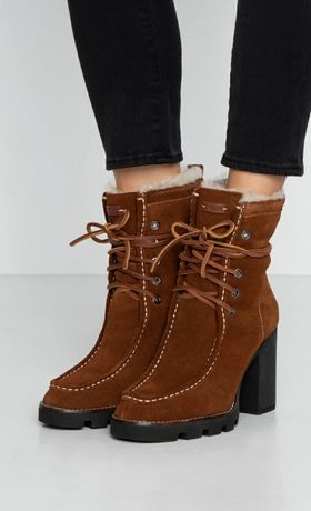 Мега крутые зимние ботинки polo ralph lauren оригинал,  размер 41