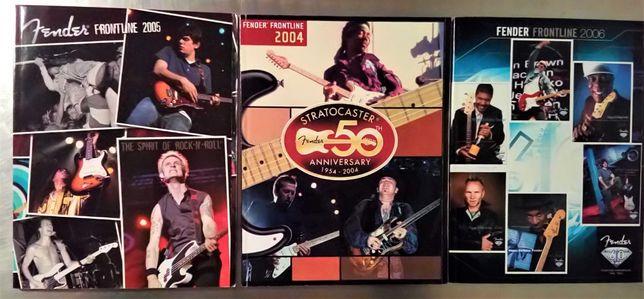 Fender Frontline (anos 2004/2005/2006) + Poster da Fender