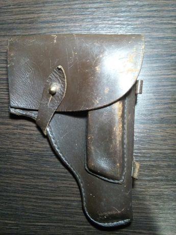 Кобура для пистолета ПМ СССР, кожа, 1975 г.