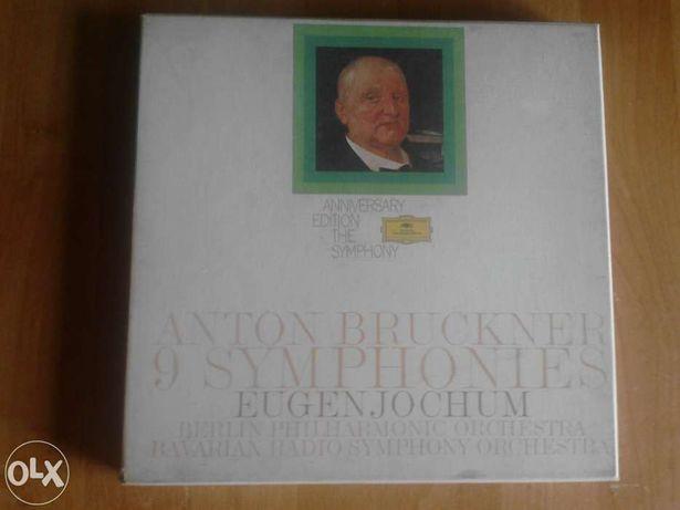 """""""Sinfonias completas"""" de Bruckner/Vinil (12LPs)."""