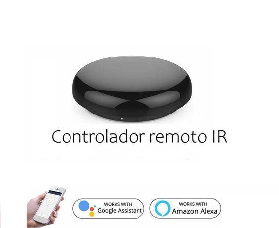 Comando WiFi/Controlo Remoto/Aplicação SmartLife, Alexa e Google Home