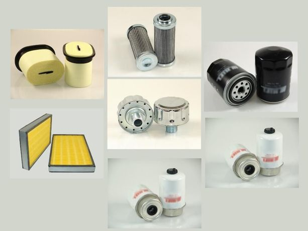 Zestaw filtrów filtry Valtra A72 filtr oleju powietrza paliwa
