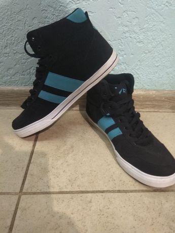 Кеды кроссовки подростковые замшевые 38р