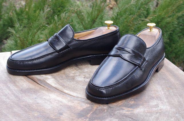 Gravati туфли пенни-лоферы оленья кожа Италия 43р 28см