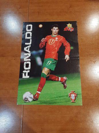 Cristiano Ronaldo Poster Raro Euro 2004