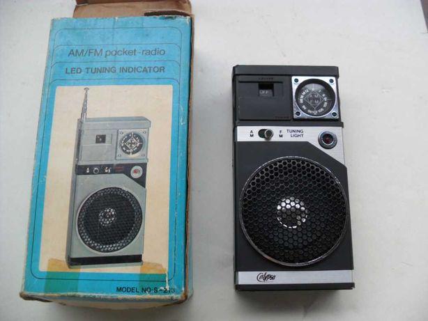 Kolekcjonerskie mini radio Calipso lata 80 nowe nie używane