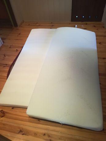 Materac piankowy 87cm x 200cm ze zdejmowalnym do prania pokrowcem