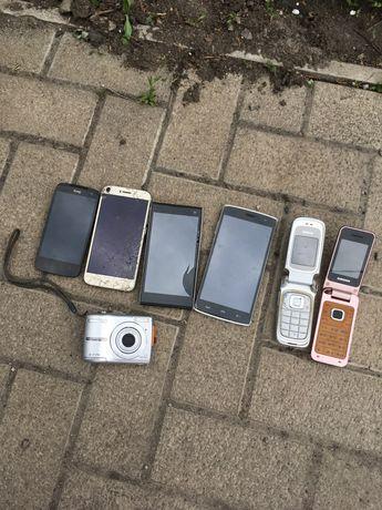 Лот Телефонов - половину рабочих Nokia, SAMSUNG, Bravis