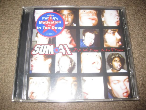 "CD dos Sum 41 ""All Killer No Filler"" Portes Grátis!"