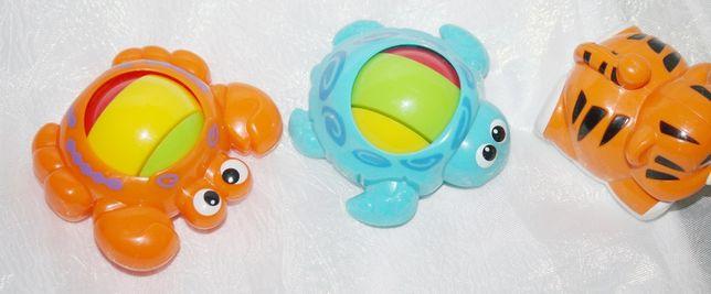 Fisher-Price игрушки погремушки с шариком(3 шт.)