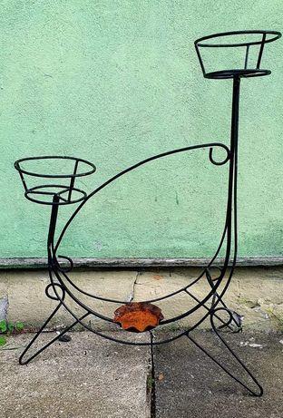 Krzesła Fotele szklo kwietnik porcelana PRL
