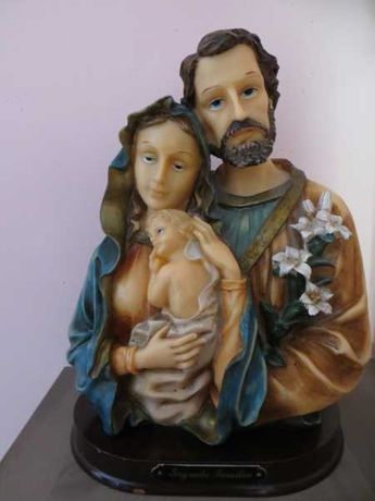 Estatueta Sagrada Familia
