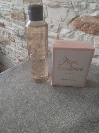 Yves rocher perfumy+perfumowany zel pod prysznic mon evidence nowe