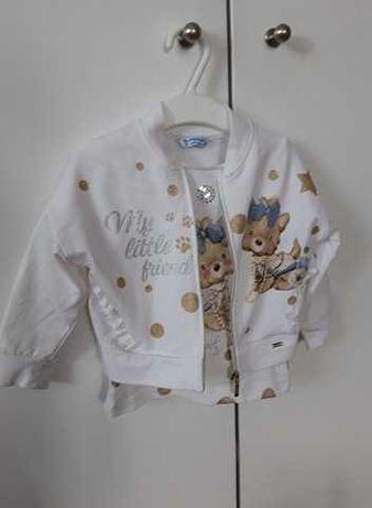 Firmowe Ubranka dla Dziewczynki r. 80-86-Mayoral, H&M ,Next