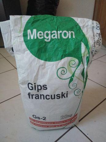 Gips szpachlowy francuski GS-2 MEGARON-11 KG+Gratis