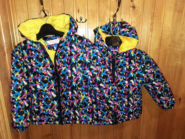 Осінні курточки.можна для двійнят 5-6рочків