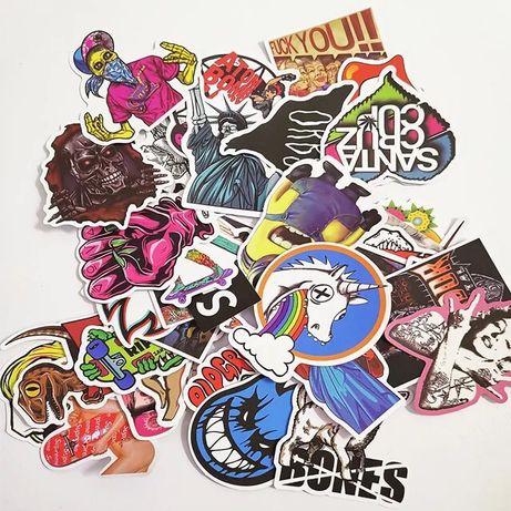 50 шт Стикеры, Стикер бомбинг, Sticker Bombing, Наклейки,Стикербомбинг