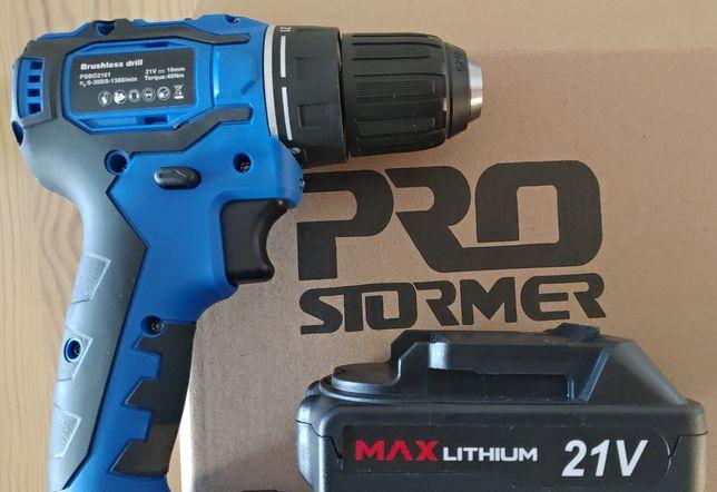 Aparafusadora Pro Stormer - Motor Brushless Drill