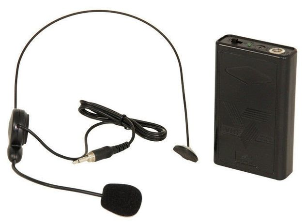 Mikrofon nagłowny Ibiza PORTHEAD8 z bodypackiem
