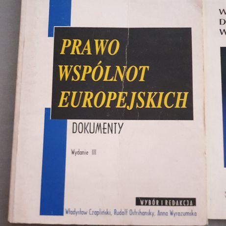 Prawo Wspólnot Europejskich - wstęp i dokumenty