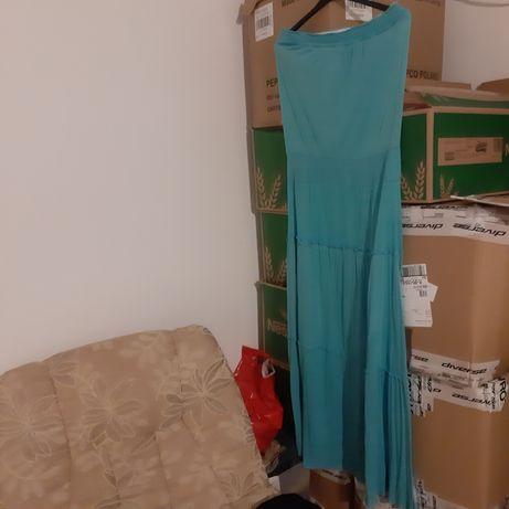 Letnia długa sukienka