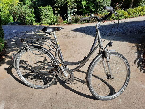 Rower Kettler City Comfort Alu-Rad amortyzatory z przodu i z tyłu