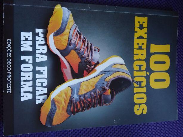 Livro 100 Exercícios para ficar em forma