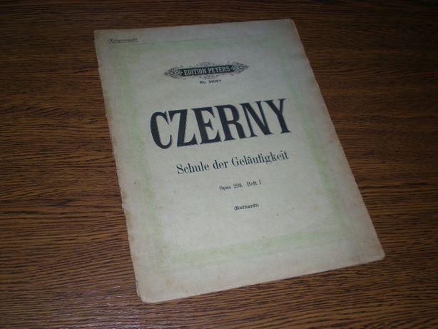 Czerny - Schule der Gelaufigkeit Opus 299 Heft I nuty Edition Peters