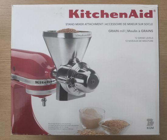 Nowy!!! Kitchenaid Młynek do mielenia zboża METALOWY