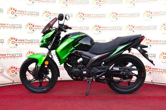Новый мотоцикл Lifan Лифан KP200 Irokez Официально из салона АРТМОТО