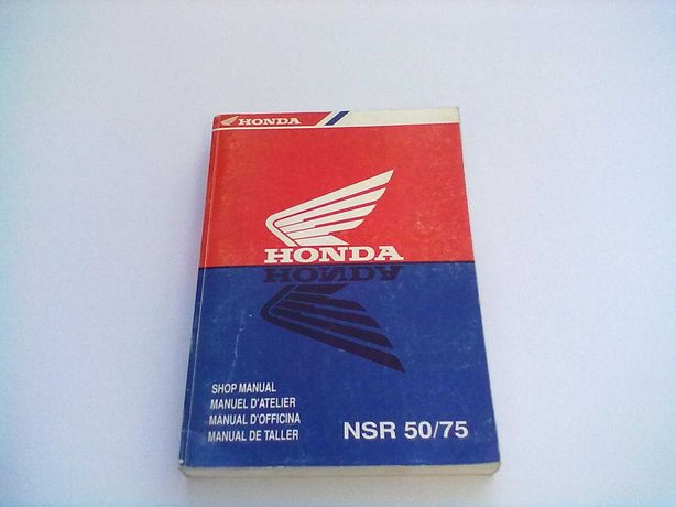 Manual Técnico Oficial Honda NSR 50-75