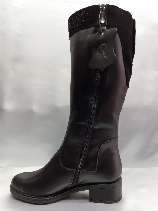 Распродажа!Зимние классические сапоги кожаные Romax 36,37,38,41р Одесса - изображение 1