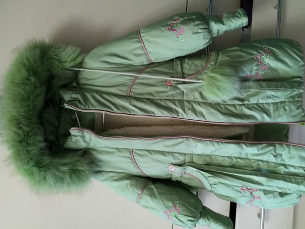Зимний пуховик со съемной подкладкой