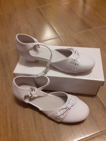 Nowe buty komunijne dla dziewczynki roz 34