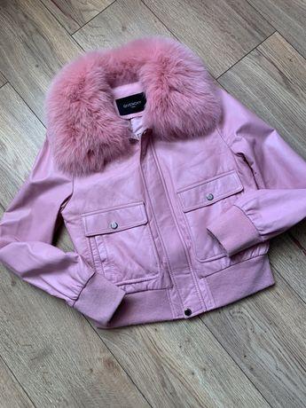 Куртка кожаная Givenchy