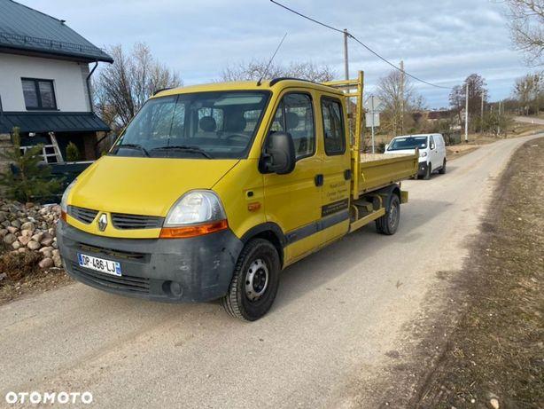 Renault Master  Wywrotka! Pneumatyka! Oryginalny przebieg + lakier