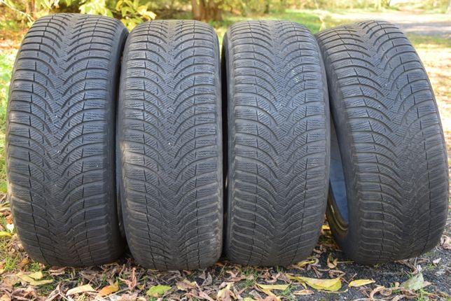 Opony Zimowe Michelin Alpin A4 225/55/17 4.5-5.5 mm Warszawa