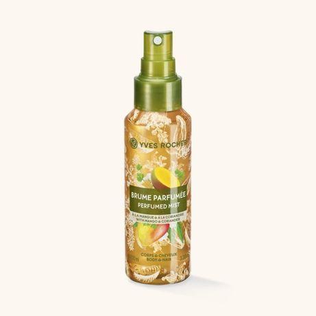 Mgiełka do ciała i włosów mango & kolendra od Yves Rocher 100ml
