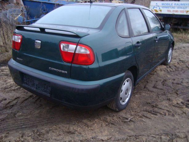 Seat Cordoba 1.6 LIFT 2000r.Klima,Tylko 115 tys.Km Spro. z Niemiec
