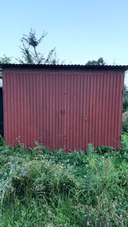 Garaż Blaszany Ocynk 3m x 5m