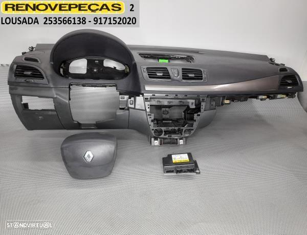 Kit De Airbags C/Tablier Renault Megane Iii Combi Van (Kz0/1)