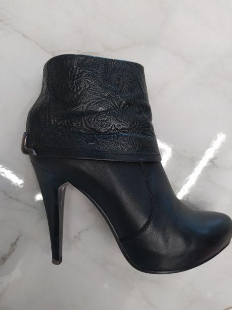 Ботинки кожаные 37р. Ботінки шкіряні